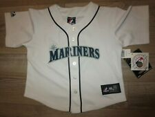 Dustin Ackley Seattle Mariners MLB majestic Jersey Children Youth L 7 NEW