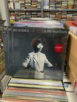 Laurie Anderson LP Big Science Versiegelt Red Vinyl 2021