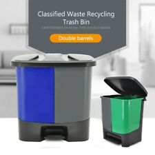 Classified Waste Recycling Trash Bin 40L for Indoor Use