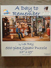 """A Day to Remember"" 1000-Pc Jigsaw Puzzle by Les Ray"