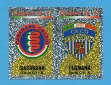 PANINI CALCIATORI 1996/97-Figurina n.594- CASARANO+FERMANA-SCUDETTO-NEW CONPUNTI