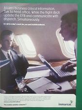 5/2008 PUB INMARSAT MOBILE SATELLITE IN-FLIGHT COMMUNICATIONS SWIFTBROADBAND AD