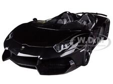 LAMBORGHINI AVENTADOR J ROADSTER BLACK 1/18 DIECAST MODEL CAR BY AUTOART 74676