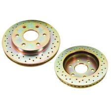 For Chevrolet Avalanche 1500 Front Brake Disc Set Cross Drilled Brembo FD00059