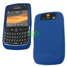 OEM NEW Blackberry Javelin Curve 8900 Dark Blue Silicon Gel Skin Case Cover