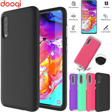 For Samsung Galaxy A70 A51 A30 A20 A8 Plus 2018 Shockproof Case+Tempered Glass