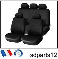 Ford BMW 9 Pcs Housses Couvre Sieges Fabric Noir