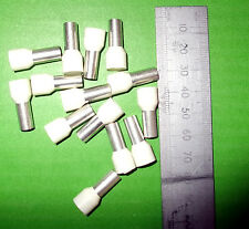 Cord End 16mm Ivory Terminal Ferrule Pin  x 100pcs DICE0016 Davico Trade Offers