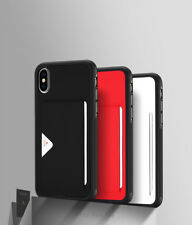 iPhone X Wallet Credit Card Slot Back Cover for iPhone X