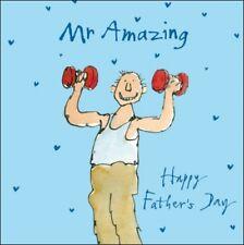 Quentin Blake el señor increíble feliz día del padre Tarjetas de rango de arte de tarjeta de felicitación