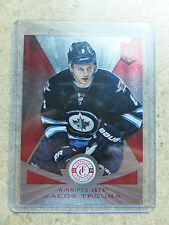 13-14 Panini Totally Certified Rookie RC Ruby Parallel #232 JACOB TROUBA /100