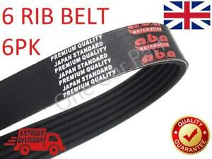 Alternator V-Rib Drive Belt 6PK1183 For Fiat Palio, Panda, Punto, Qubo, Strada