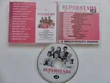 Superstars N°2 HALLYDAY CLAUDE FRANCOIS NINO FERRER BARDOT SARDOU CD ALBUM