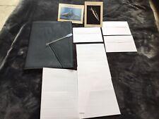 Concorde memorabilia Assorted Postcard cocktail writing paper menu 21 Pieces