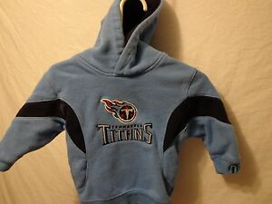 Toddler Boys Tennessee Titans 12M Jacket NFL Light Blue Pullover Hoodie