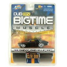 Jada Dub City Bigtime Muscle 1969 69 Chevy Chevelle SS Car Black Die Cast 1/64