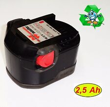 originale WÜRTH Batteria 12 V SD12 2,5 Ah NiCd batterie Sanyo 0700980325