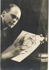 More details for bruce bairnsfather portrait ink autograph.
