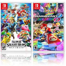 Nintendo Super Smash Bros. Ultimate Bundle with Mario Kart 8 Deluxe