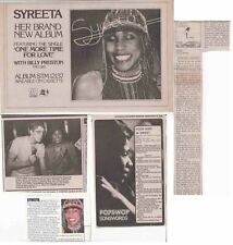 SYREETA : CUTTINGS COLLECTION