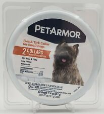 PetArmor Flea & Tick Collars for Small Dogs 2 Collars (12 Month Protection)