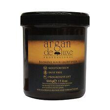 Polvere per capelli Blonde candeggio dei capelli bionda blonde Argan Deluxe 500g (17.6oz)