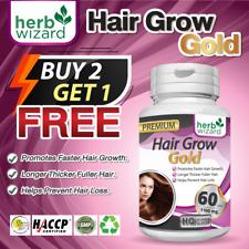 HERBAL HAIR GROW VITAMINS FAST HAIR GROWTH GROW FASTER LONGER THICKER FULLER
