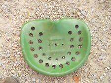 John Deere Oliver Farmall Ih Tractor Jd Univ Vintage Metal Seat Pan Impl Handle
