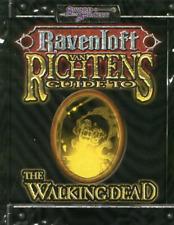 Ravenloft: Van Ricten's Guide to the Walking Dead Book (New)