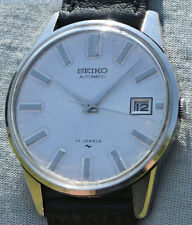 Rarest Watch Seiko Automatic Time Machine 1969 IN Steel