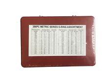 386PCS Metric Universal Rubber O-RING Assortment Box O RING KIT