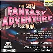 Cincinnati Pops Orch/kunzel - Great Fantasy Adventure Album NEW CD