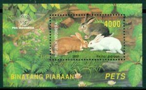 Indonesia Scott #1877 MNH S/S Domesticated Animals FAUNA CV$2+