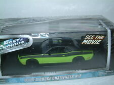 1/43 GREENLIGHT `FAST & FURIOUS` DODGE CHALLENGER R/T