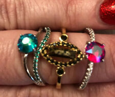 FRAGRANT JEWELS Lot of 3 RINGS $25 each value from Bath Bombs NEW