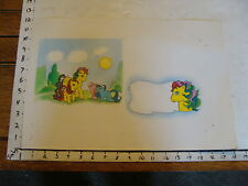 My Little Pony layout ART: Tic Tac Toe & baby, plus doodles & noodles