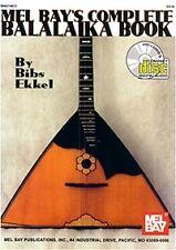 COMPLETE BALALAIKA BOOK Ekkel + online