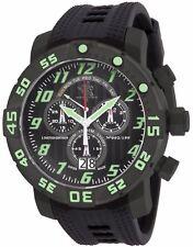 New Invicta 17532 Sea Base Titanium Black Military Green 53mm Swiss Made Watch
