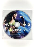 FREE SHIPPING⭐️ Zumba Fitness 2 (Nintendo Wii Game) DISC ONLY ✨Very Good Cond✨