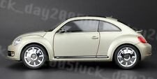KYOSHO Diecast Volkswagen The Beetle Coupe 1/18 Moon Rock Silver