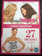Bride Wars - 27 Dresses - 2 DVDs with Kate Hudson & Anne Hathaway
