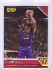 2018-19 Panini Instant NBA #36 LeBron James Lakers Card - Only 210 made!