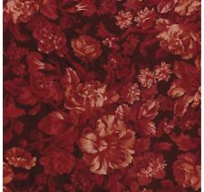 Kings Road Catherine Autumn Burnt Orange Fall Floral Rose Quilt Fabric Quilting