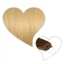 "easy flip extensions in light gold blonde #24 12"" 70 gram your human hair secret"