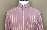 Brooks Brothers / Red Fleece / Casual Button Front Mens Long Sleeve Shirt Size L