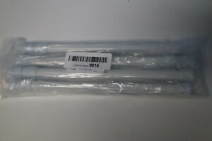 qinsou Tension Rods, 4 Pack Adjustable Spring Steel Cupboard Bars 15.7-28 In
