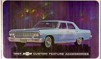 1964 Chevelle Accessory Catalog 64 SS Malibu El Camino Options Sales Brochure