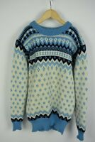 DALE OF NORWAY Women's ~SMALL* Pure New Wool Chunky Norwegian Sweater 21358-JS