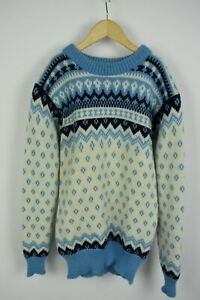 DALE OF NORWAY Women's ~SMALL Pure New Wool Chunky Norwegian Sweater 21358-JS