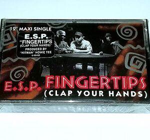"""ESP SEALED CASSETTE Fingerprints G FUNK TAPE Gangster Rap nwa Dr dre lp 12"""" cd"""